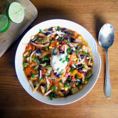 Vegan Southwestern Soup | occasionallyeggs.com