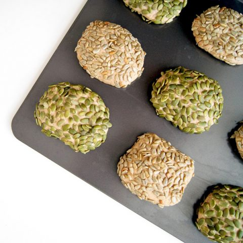 High Protein Seed Buns | occasionallyeggs.com