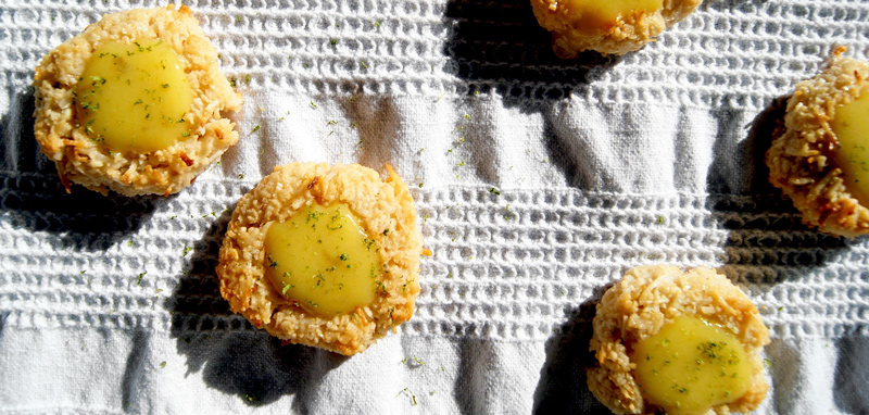 Coconut Lime Thumbprint Cookies | occasionallyeggs.com #dairyfree #glutenfree
