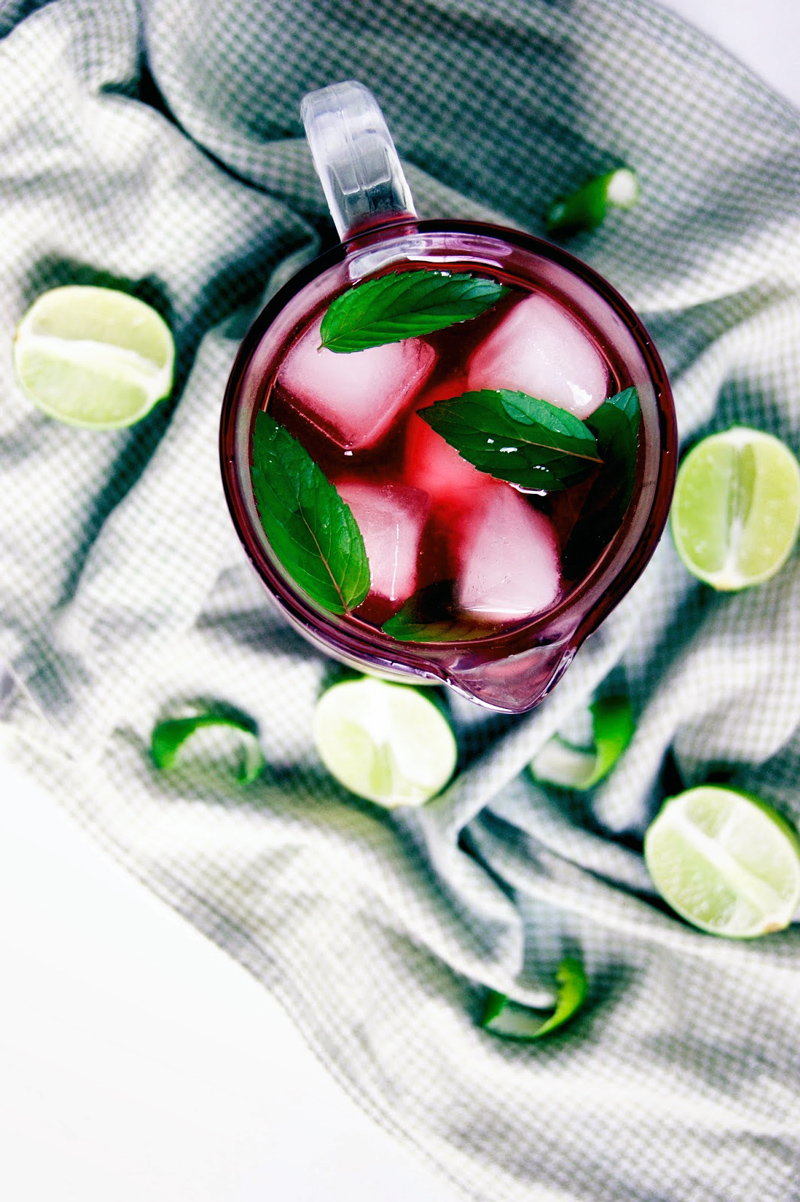 Hibiscus Lime Iced Tea | occasionallyeggs.com