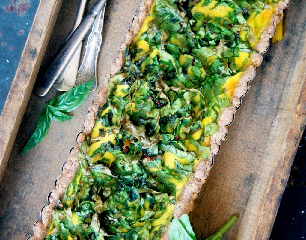 Green Monster Quiche (Dairy-free)