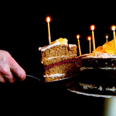 Vanilla Orange Birthday Cake   occasionallyeggs.com #veganrecipes