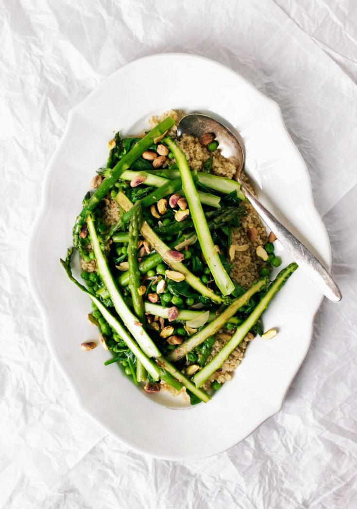 Warm Spring Salad & Best Ever Dressing   occasionallyeggs.com
