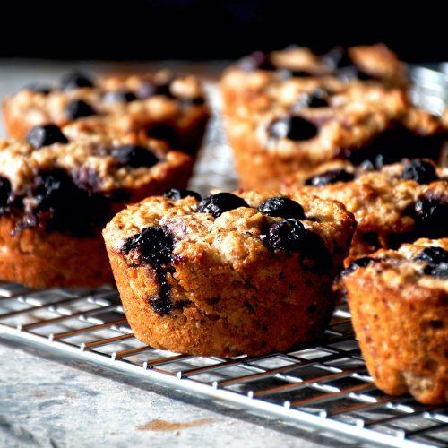 Blueberry Almond Muffins | occasionallyeggs.com