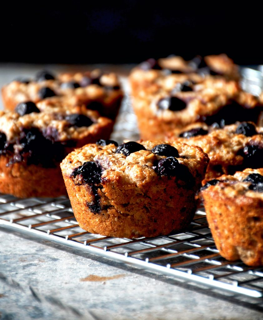 Blueberry Almond Muffins | occasionallyeggs.com