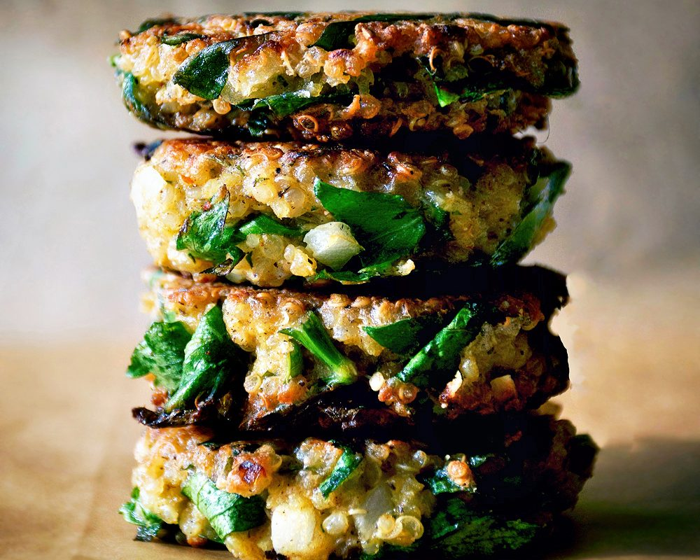 Quinoa & Swiss Chard Patties | occasionallyeggs.com