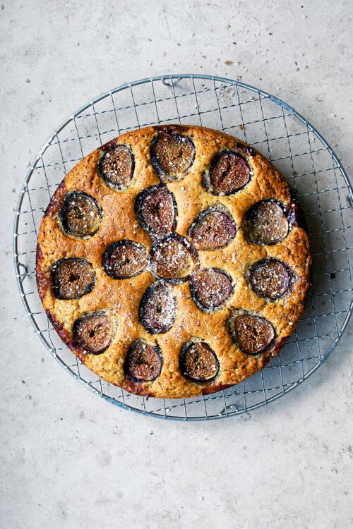 Fig & Hazelnut Cake   occasionallyeggs.com