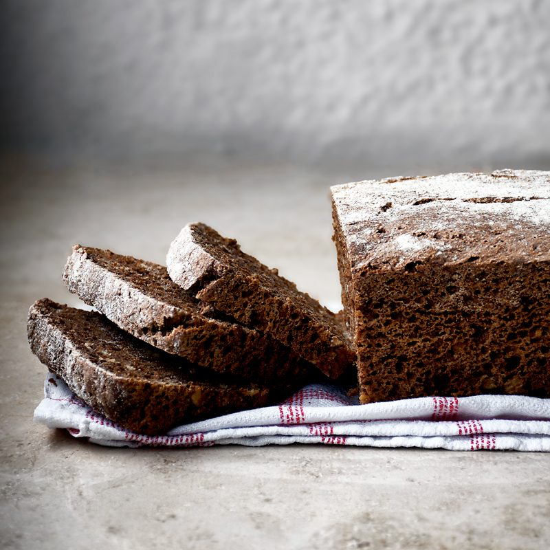 Easy Overnight Dark Rye Bread | occasionallyeggs.com