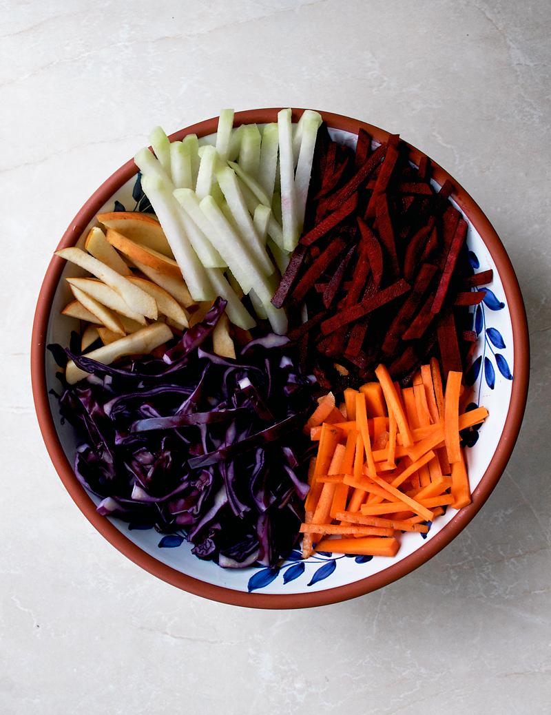 Winter Vegetable Slaw | occasionallyeggs.com
