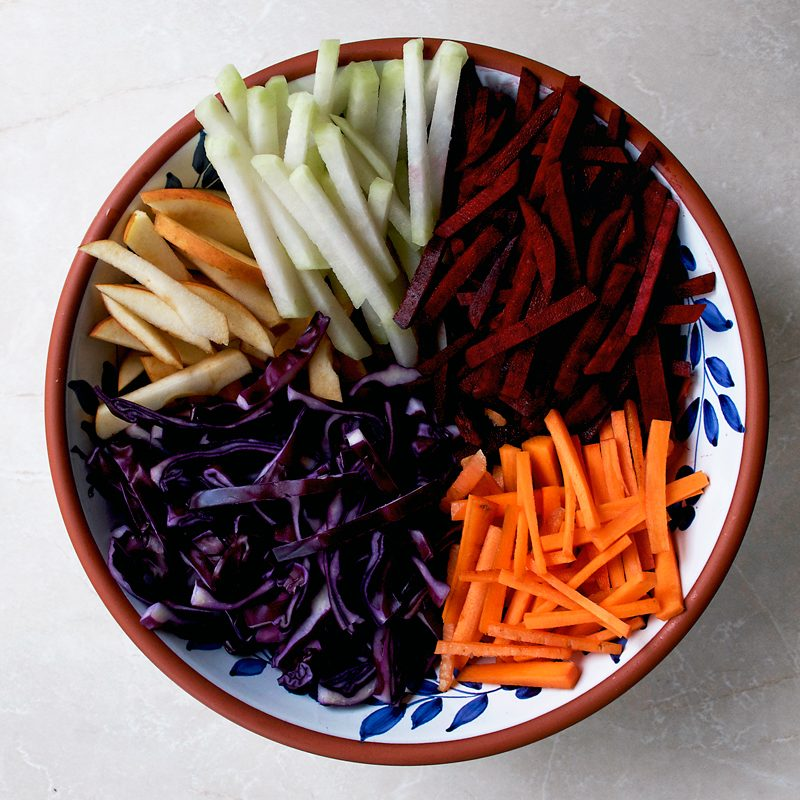 Winter Vegetable Slaw