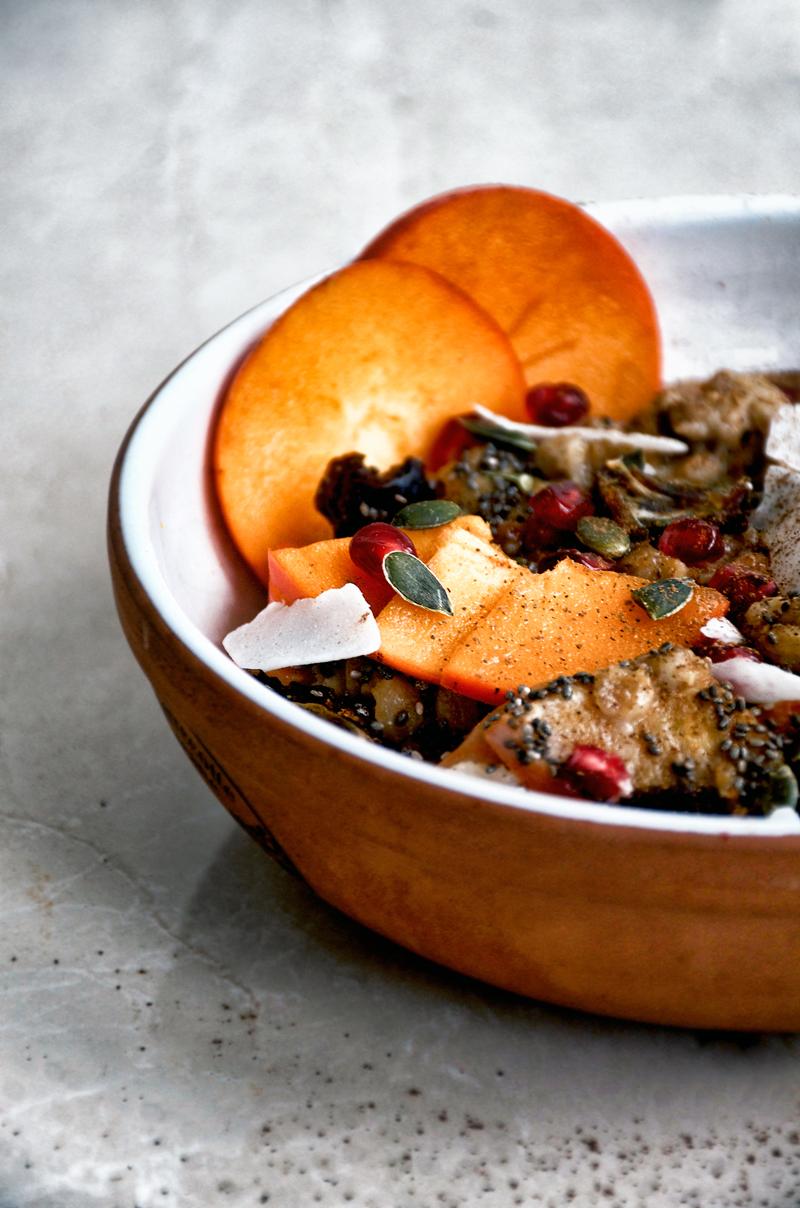 Persimmon Porridge | occasionallyeggs.com
