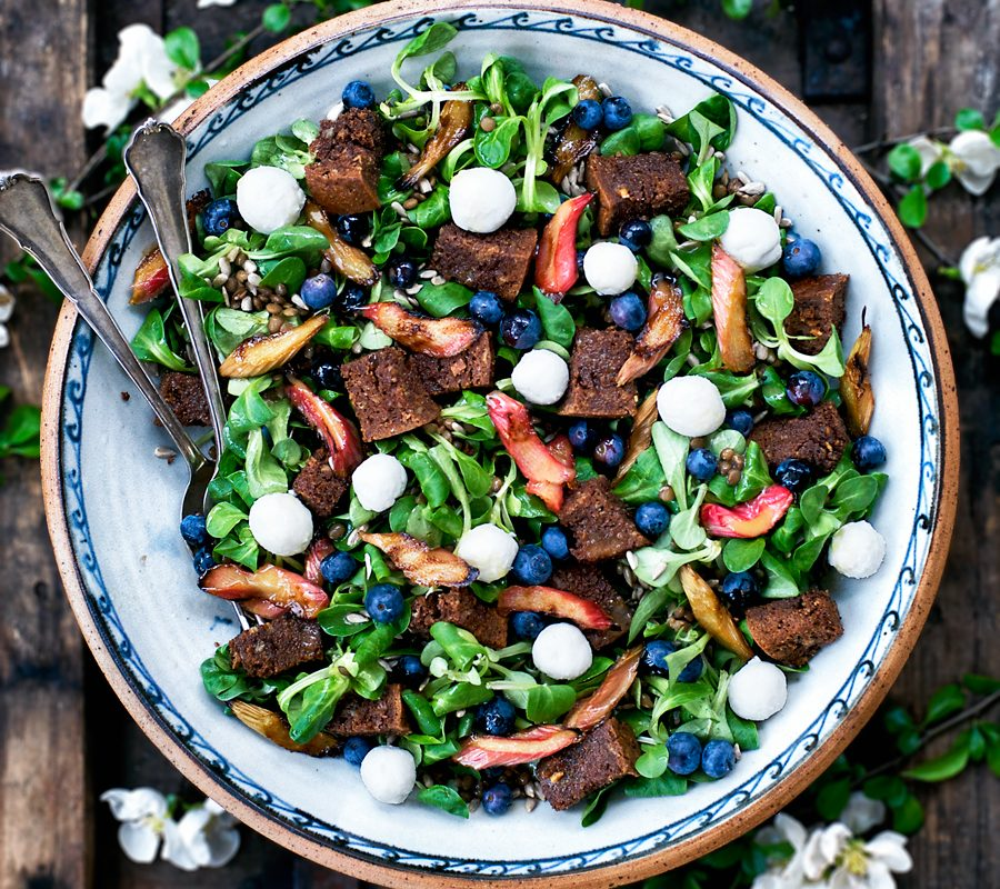 Colourful Late Spring Salad