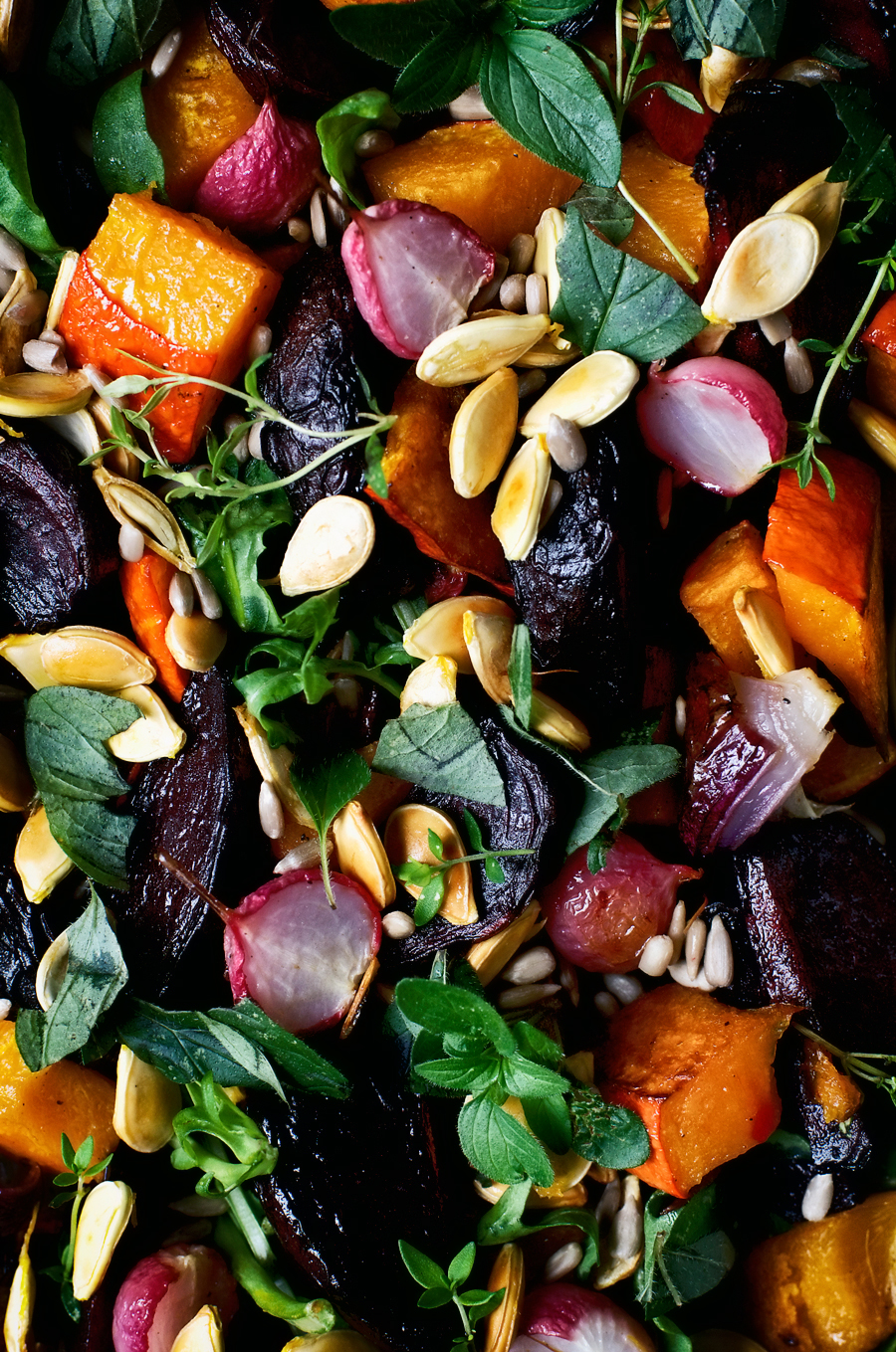 Pumpkin Salad from Bowls of Goodness | occasionallyeggs.com