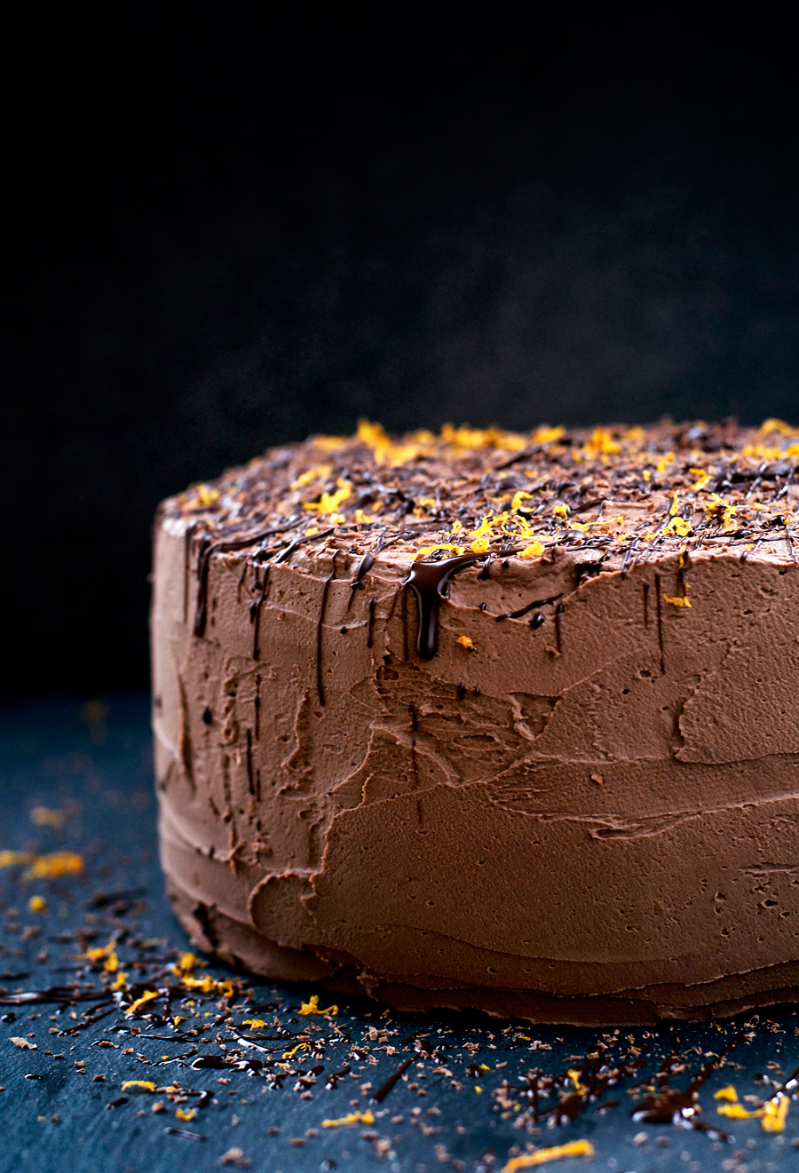 Vegan Coconut, Orange, and Chocolate Birthday Cake | occasionallyeggs.com