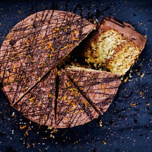 Vegan Coconut, Orange, and Chocolate Birthday Cake | occasionallyeggs.com