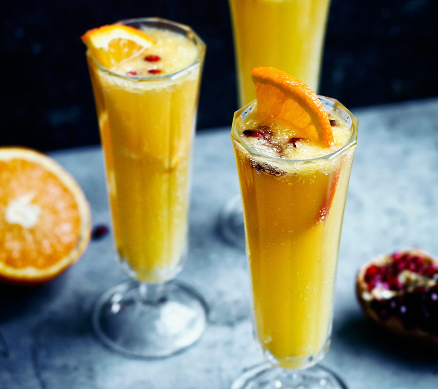 Orange Ginger Beer Sparkler