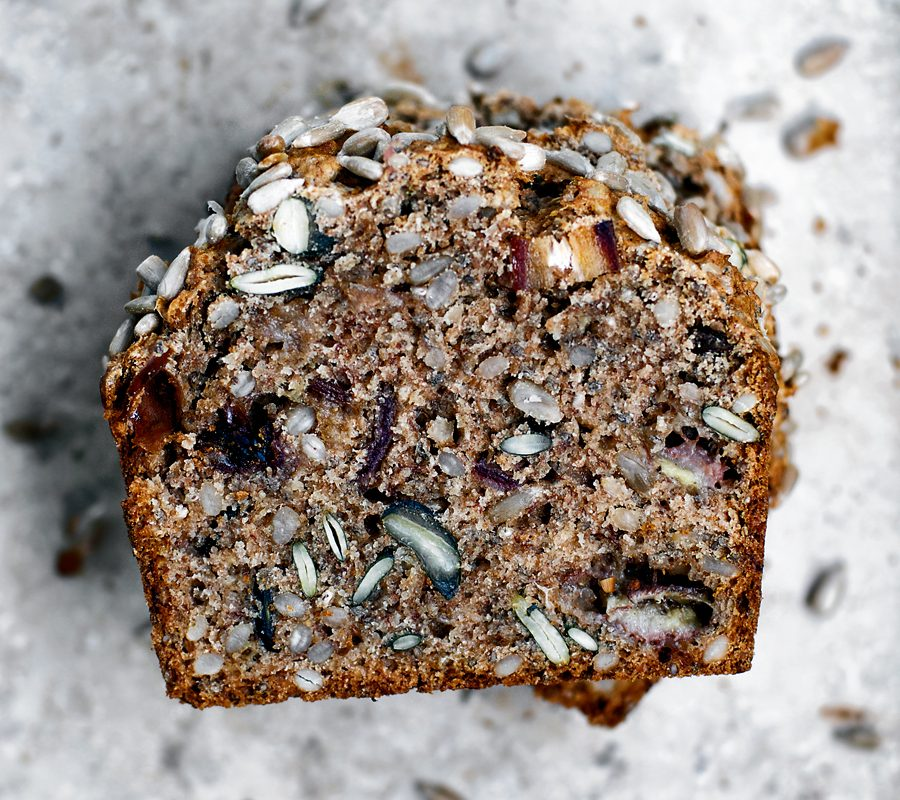 Cozy Sunflower Seed Banana Bread