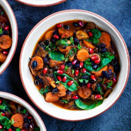 Winter Black Bean and Pumpkin Chili   occasionallyeggs.com