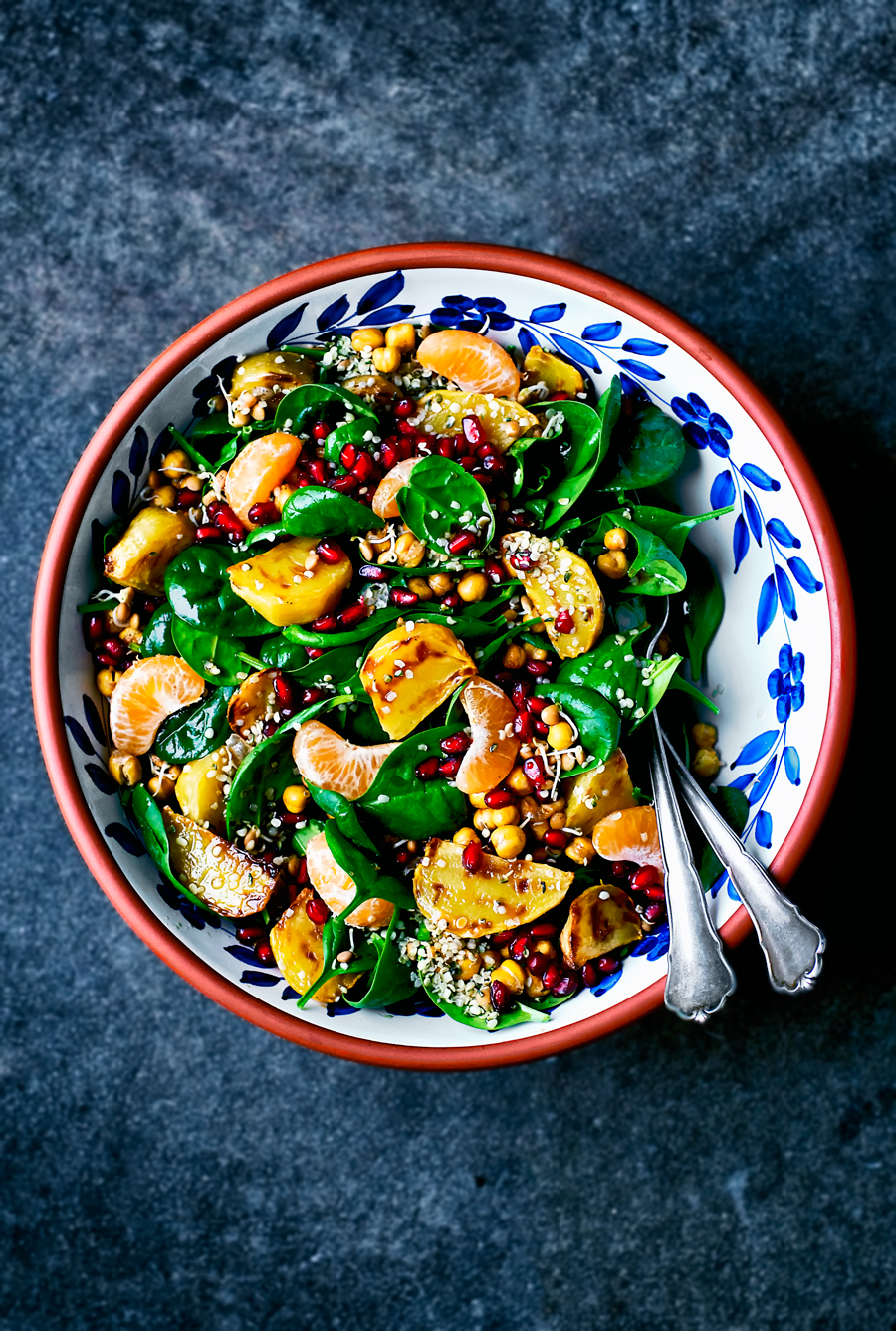 Winter Salad with Beets, Orange, and Pomegranate | occasionallyeggs.com