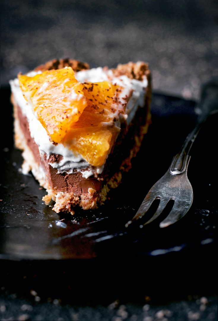 Chocolate Orange Tart | occasionallyeggs.com #chocolate #veganrecipes #dairyfree #glutenfree