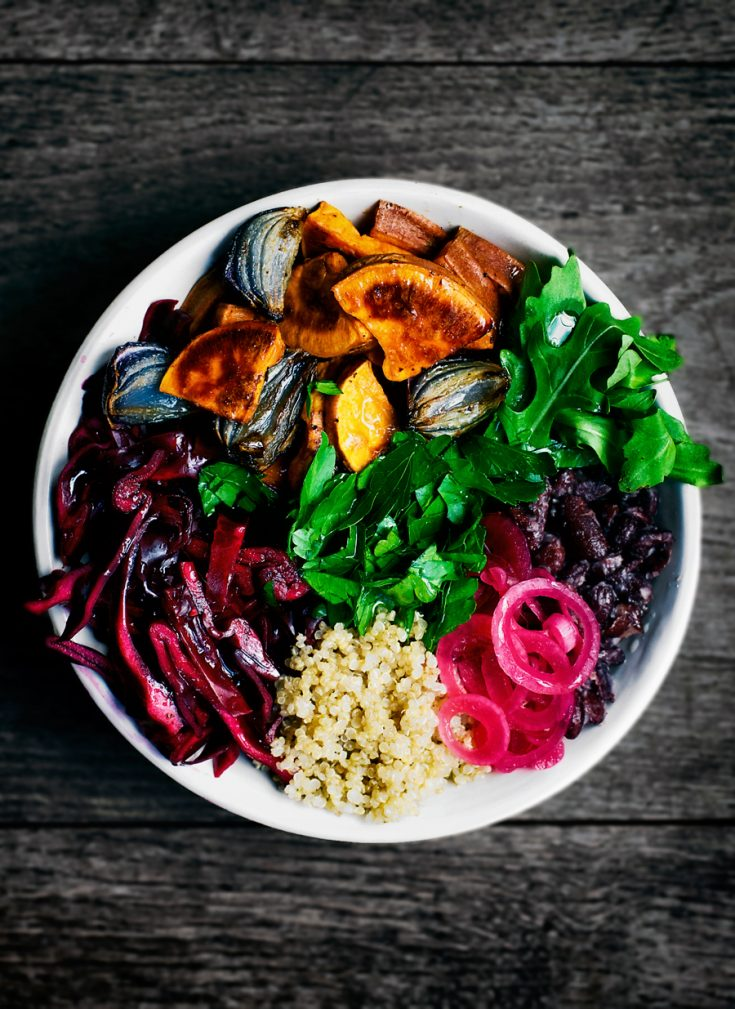 Winter Glow Energy Bowls