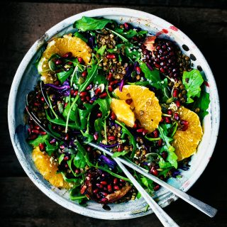 Cold Weather Detox Salad with Crispy Lentils | occasionallyeggs.com