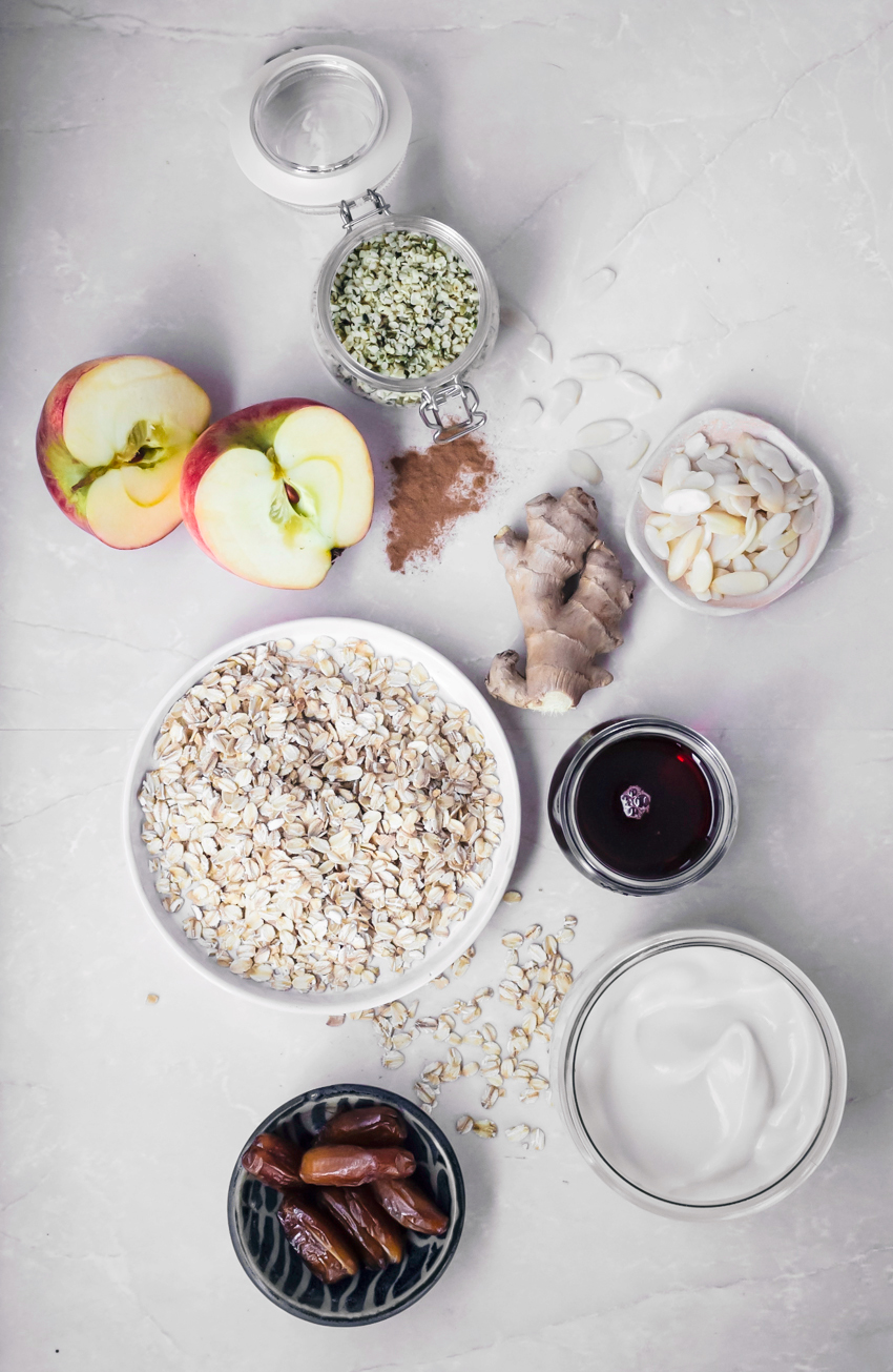 Apple Ginger Muesli from Power Plates | occasionallyeggs.com