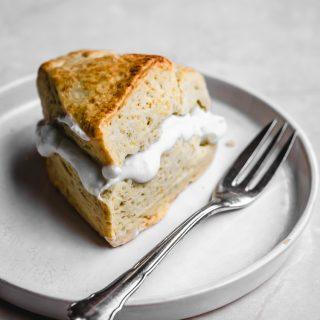 Vegan Bergamot Cream Scones   occasionallyeggs.com