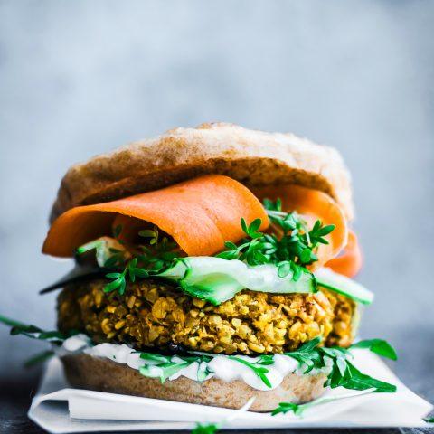 Bombay Burgers from Veggie Burger Atelier | occasionallyeggs.com