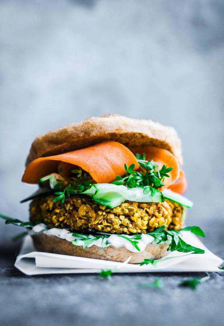 Bombay Burger from Veggie Burger Atelier