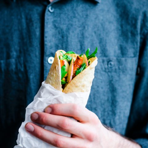 Hummus and Veggie Wraps | occasionallyeggs.com
