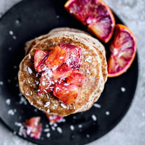 Orange Spelt Pancakes | occasionallyeggs.com