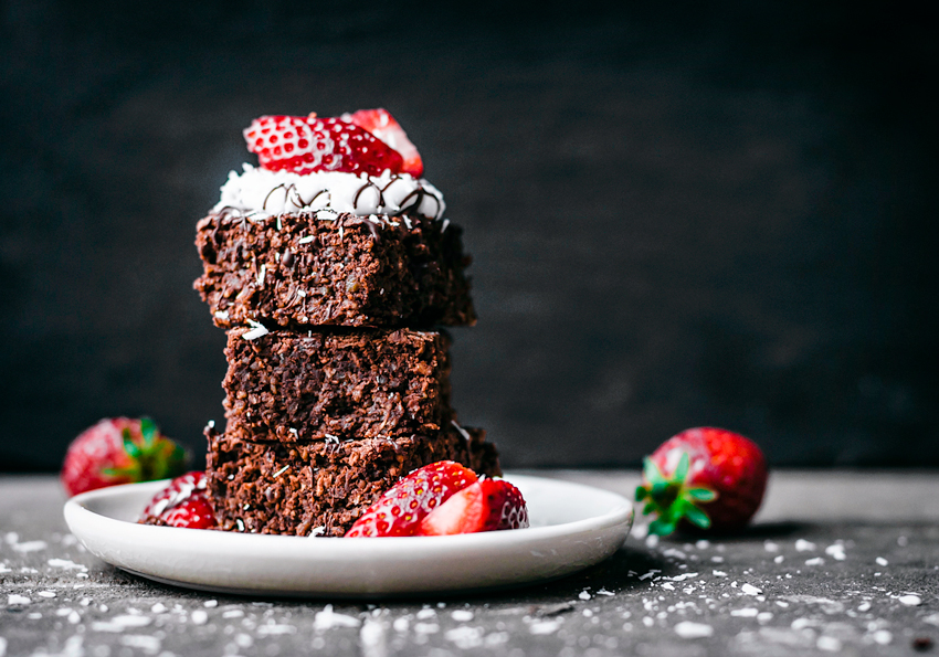 Fudgy Breakfast Brownies | occasionallyeggs.com