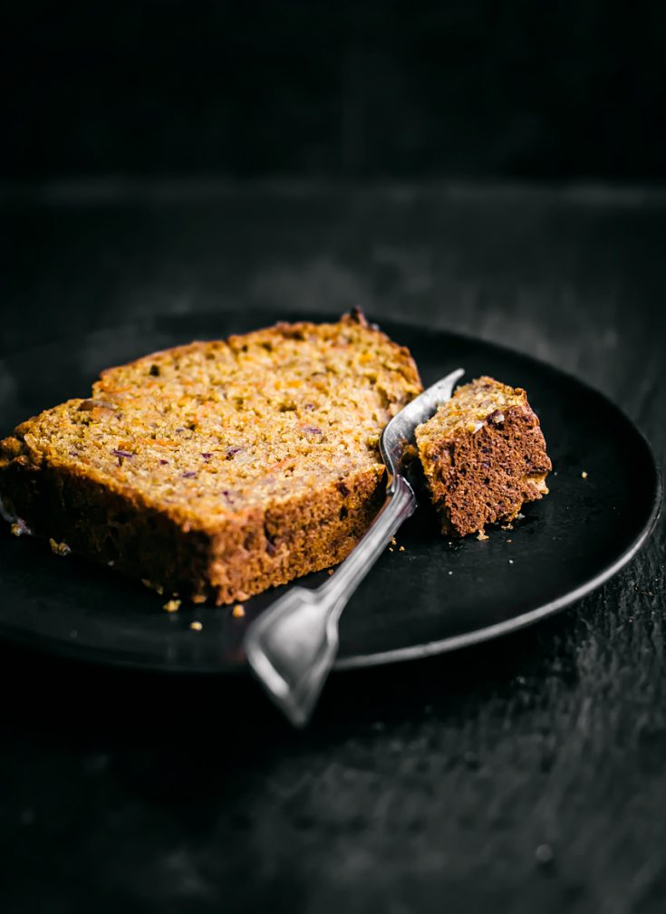 Healthy Carrot Bread with Dates and Olive Oil | occasionallyeggs.com