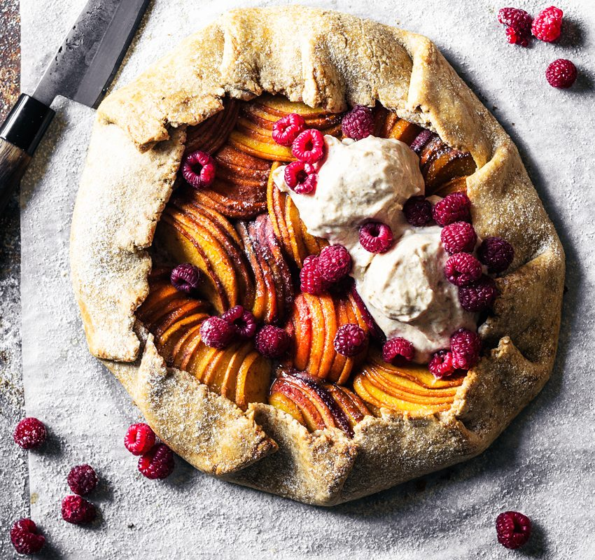 Vegan Summer Fruit Galette