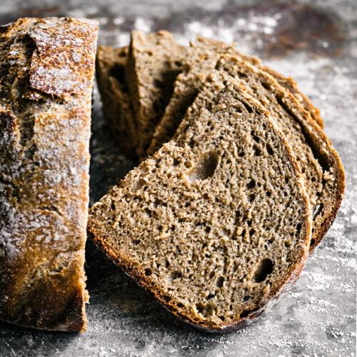 Easy Overnight Spelt Rye Bread   occasionallyeggs.com