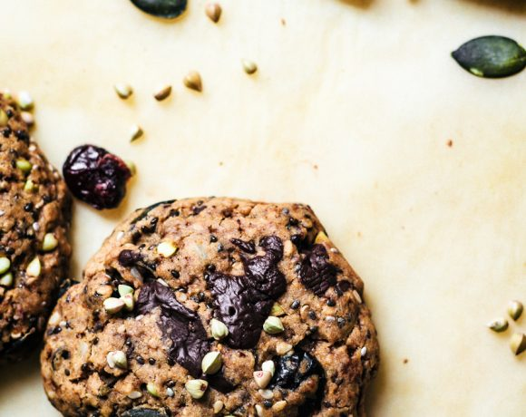 Buckwheat Trail Mix Cookies