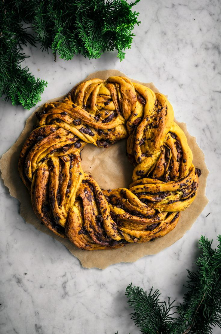 Saffron Wreath Bread
