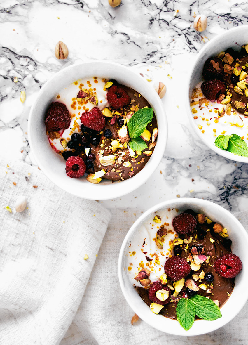 20 Healthy Chocolate Recipes | occasionallyeggs.com #plantforward #chocolate #healthy