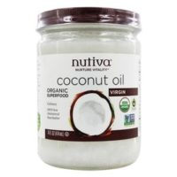 Nutiva - Coconut Oil Organic Virgin - 14 oz(pack of 1)